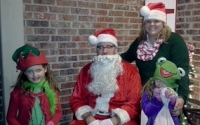 Santa's Helpers Visits Asheforde Oaks